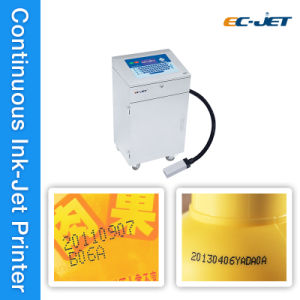 Two-Jet Color Printing Machine Continuous Inkjet Printer (EC-JET930) pictures & photos