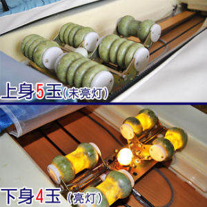 S-Sharped Heating Therapy Jade Massage Bed pictures & photos