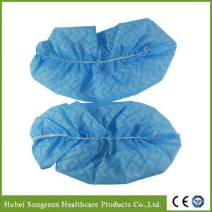 Non Woven Anti Slip Shoe Cover, Disposable Anti Skid Shoe Cover pictures & photos