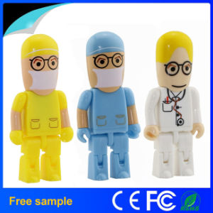 New Arrivals Moveable Doctor Nurse Model USB Flash Drive pictures & photos