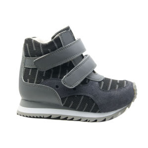 Support Athletic Shoes with High Stability Heel for Controling Gait pictures & photos