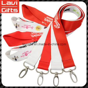 Sound Quality Country Flag Lanyard with Printed pictures & photos