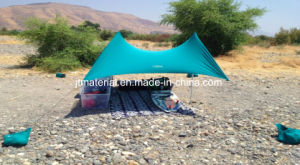Sunshade Beach Tent Waterproof Outdoor Lycra Tent Neso Beach Sunshade with Sand Bags pictures & photos