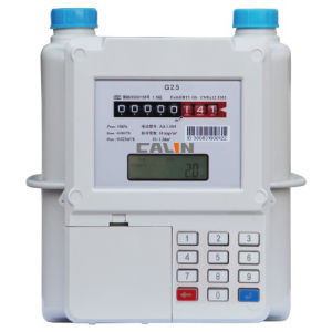 Keypad Prepaid Gas Electronic Meter pictures & photos