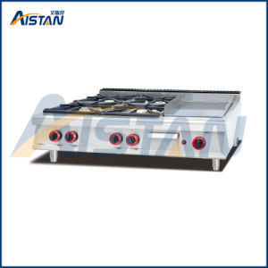 Gh996-1 4 Burner with Griddle of Catering Equipment pictures & photos