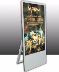 "43"" Portable Electronic Display Sign for Hotel/Restaurant/Clothing Store IP55 Waterproof pictures & photos"