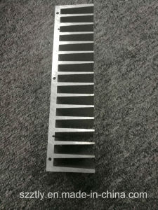 Custom 6063t5 Aluminum Extruded Heat Sink by Machining Mill Finish pictures & photos