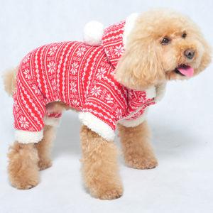 Dog Christmas Suit Pet Winter Clothes pictures & photos