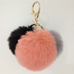 Fake Rabbit POM POM Fur Balls pictures & photos