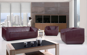 Modern Luxury Office Furniture Sectional Genuine Leather Sofa pictures & photos
