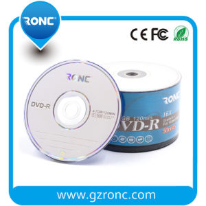Ronc Logo Blank DVDR Disk with High Recording Speed 1-16X pictures & photos