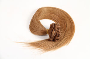 """Popular Remy Hair Extension Clip-in Hair Extensions Silky16"""" Piano Color pictures & photos"""