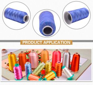 Multicolour Embroidery Thread Rayon Viscose Filament Yarn pictures & photos