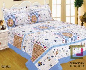 Quilt Printed Quilt Children Bedding Set Ship