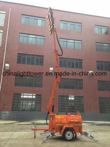 Kubota Folded Mast Hydraulic Mobile Lighting Tower pictures & photos