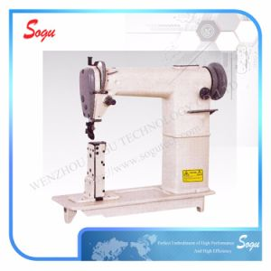 Industrial Single Needle Post-Bed Lockstitch Sewing Machine pictures & photos