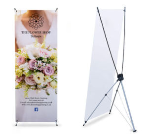 Custom Outdoor Branding Printed Full Color Roll up Mockups Display pictures & photos