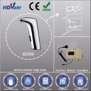 Factory Hotel Accessories Automatic Kitchen Water Faucet Basin Sensor Taps with Good Price pictures & photos