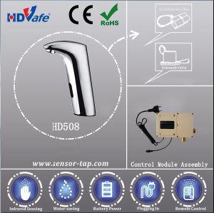 Modern Toilet Design Commercial Design Automatic Basin Sensor Taps pictures & photos