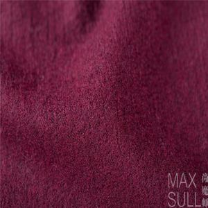 100% Merino Wool Fabric with Good Tractility in Rose Red pictures & photos
