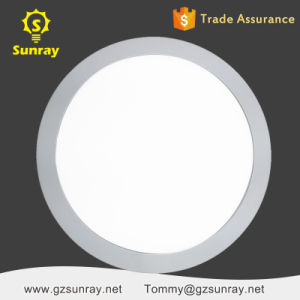 Factory Standard Sizes Slim Flat Round LED Ceiling Panel Light pictures & photos