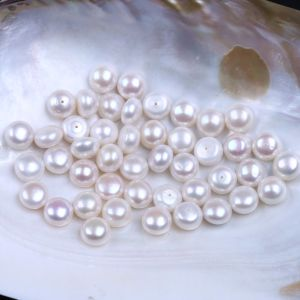 Button Freshwater Loose Pearl Wholesale Price pictures & photos