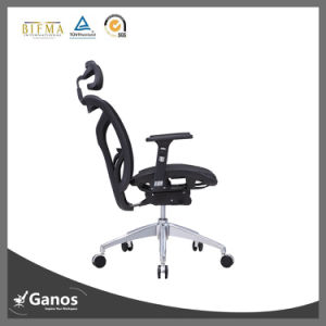 2016 Foshan Best Ergonomic Office Chair Boss Chair with Leather Armrest pictures & photos