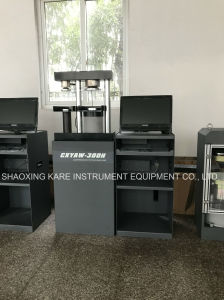 Computerized Electro-Hydraulic Servo Cement Flexure and Compression Testing Machine (CXYAW-300S) pictures & photos