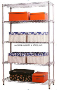 Hot Sale Metal Chrome Wire Flowers Shelf for USA pictures & photos