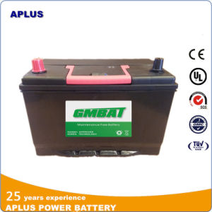 95D31r Nx120-7 12V80ah Mf Lead Acid Batteries for Ghana Market pictures & photos