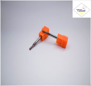 Cutoutil HRC55 Tialn Coating Long R2.0*8*4D*75L*2f/4f for Steel CNC Machining Part  Ball Nose End Mills pictures & photos
