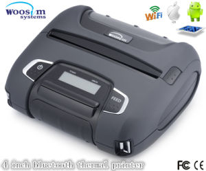 Mobile Wireless Printer, Bluetooth, USB, RS232 Port Compatible. Upgraded Sdk Opened Free Woosim Wsp-I450 pictures & photos