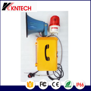 Broadcast Telecom Louder Speaking Weatherproof Telephone Knsp-08L pictures & photos