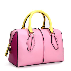Multicolor Leather Boston Bags Lady Pillow Bags pictures & photos