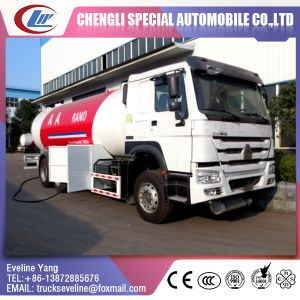 Rhd /LHD Hot Sale HOWO Quality LPG GLP Truck pictures & photos