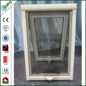 German Veka UPVC/PVC Awning Glass Windows with Retractable Insect Screen pictures & photos