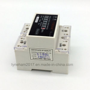 Dds-5r Single Phase DIN Rial Kwh Meter pictures & photos