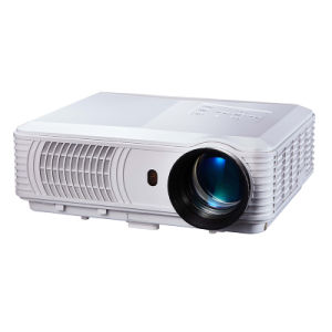 Newest Projector with Full HD High Brightness& School Business Multimedia LED Projector pictures & photos