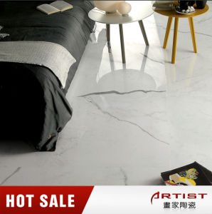 Bianco Statuario White Marble Look Porcelain Tile pictures & photos