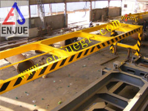 Full Automatic 40 Feet Overheight Lifting Frame for Discharging Lifting Flat Rack Container pictures & photos