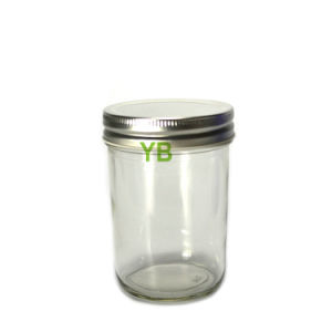 250ml Mason Jar with Silver/Gold Lid pictures & photos
