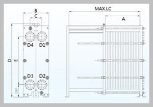B200h Gasketed Plate Heat Exchanger pictures & photos
