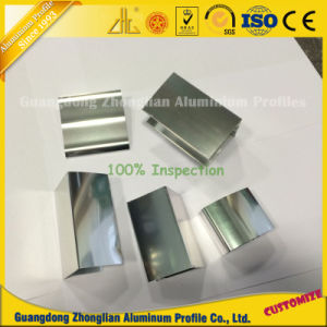 6063 6463 Mirror Shining Polished Aluminium Extrusions Bathroom Profiles pictures & photos