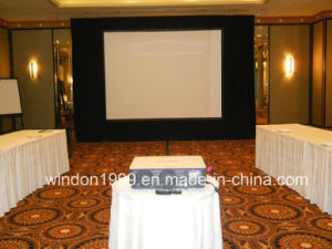 Outdoor & Indoor Fast Fold Projection Screen with Flight Case pictures & photos