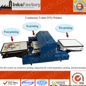 A3 Continuous T-Shirt DTG Printers pictures & photos