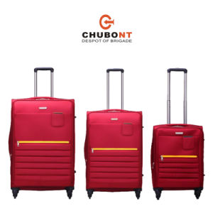 Chubont High Qualilty 2016 New Design 4 Wheels Trolley 24 24 28 Inch Luggage Cases pictures & photos
