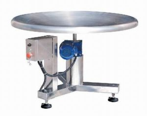 Turntable Packaging Machine for The Food Packing Line Jy-T pictures & photos