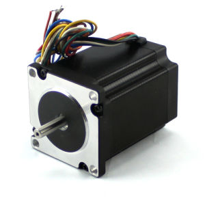 China Manufacture 1.8 Degree 60mm NEMA 24 Hybrid Stepper Motor High Torque Electric Motor with Cheap Price pictures & photos