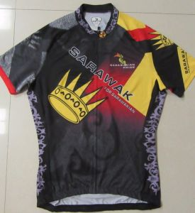 Wholesale Men Cycling Wear Cycling Jersey with Sublimation Printing pictures & photos