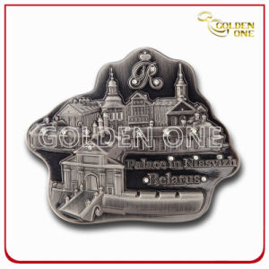 Custom Shape and 3D Logo Metal Fridge Magnet for Souvenir pictures & photos